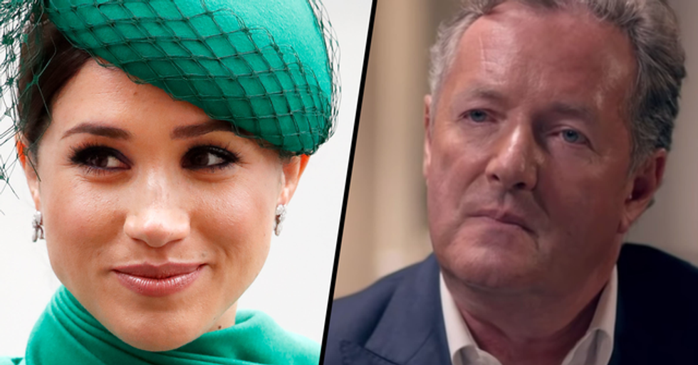 Piers Morgan Goes in on Meghan Markle Who 'Got Everything She Wanted'