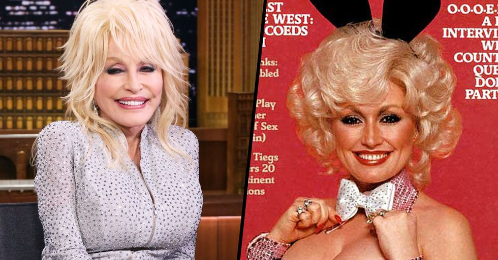 Dolly Parton Wants to Pose for Playboy Again for Her 75th Birthday