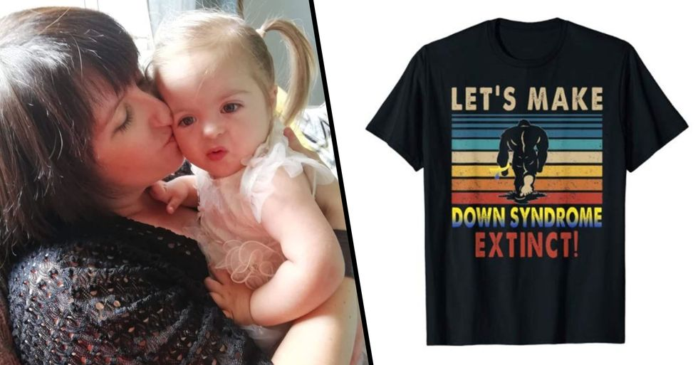 Parents Are Furious Over 'Let's Make Down's Syndrome Extinct' T-Shirt