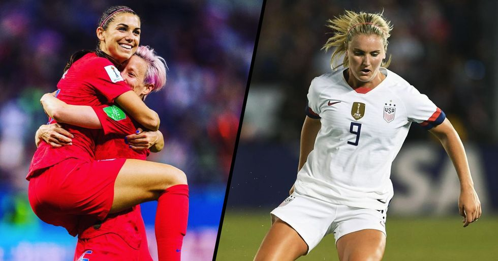 US Soccer Say That Women Shouldn't Be Paid the Same as Men Because They're Less Skilled