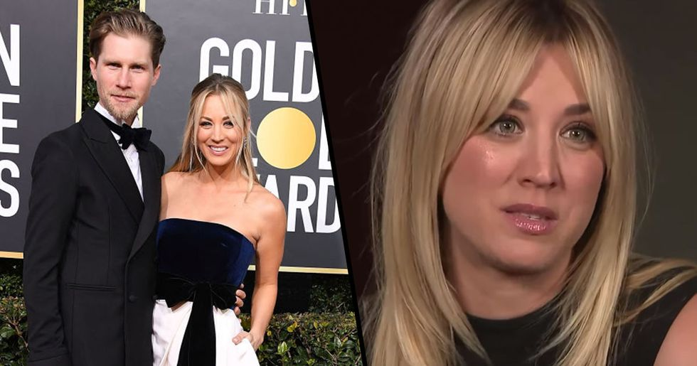 Kaley Cuoco Reveals The Reason She Doesn't Live With Her Husband