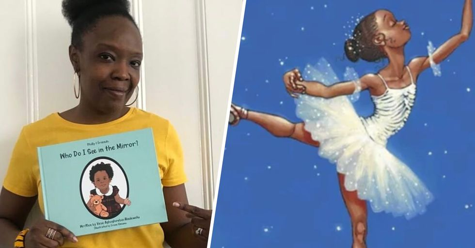 Author Pays Homage to Black Girls in Children's Books and It's Beautiful