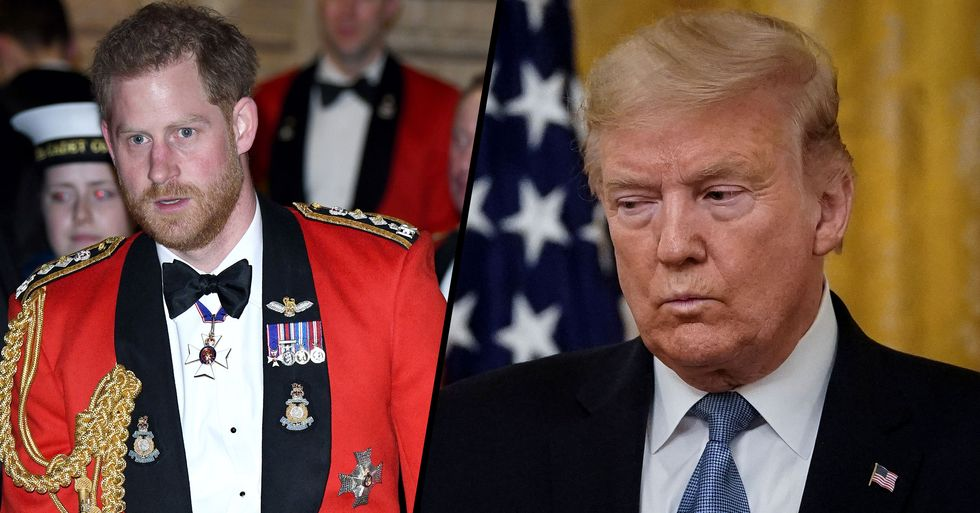 Prince Harry Reportedly Slammed Trump in Secretly Recorded Phone Conversation