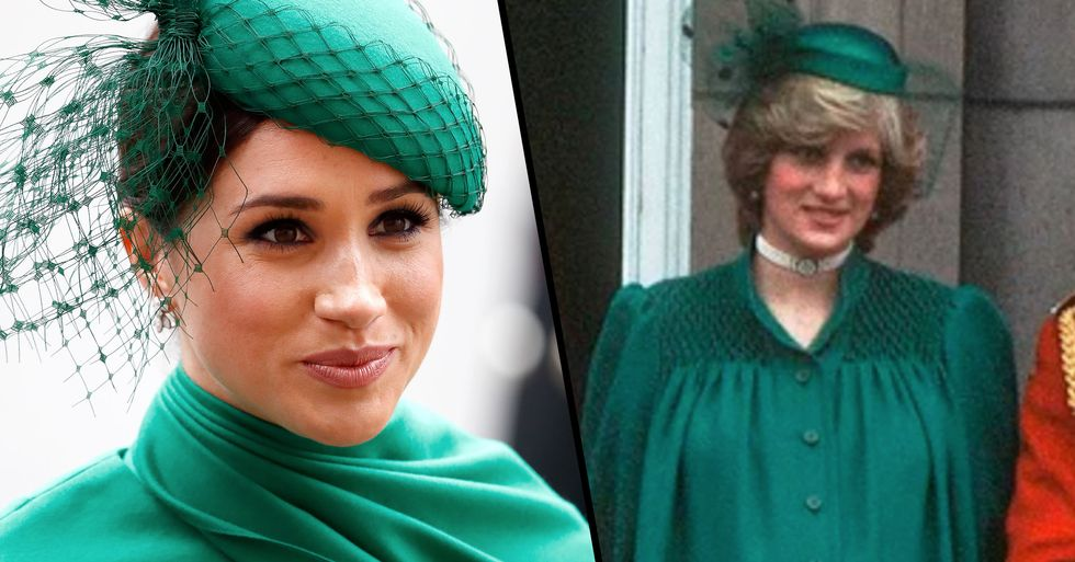 Meghan Markle Channeled Princess Diana for Her Final Royal Appearance