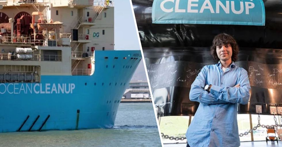 'Boy Genius' Who Said He'd Make Oceans Clean Themselves Just Did Exactly What He Said He Would Do