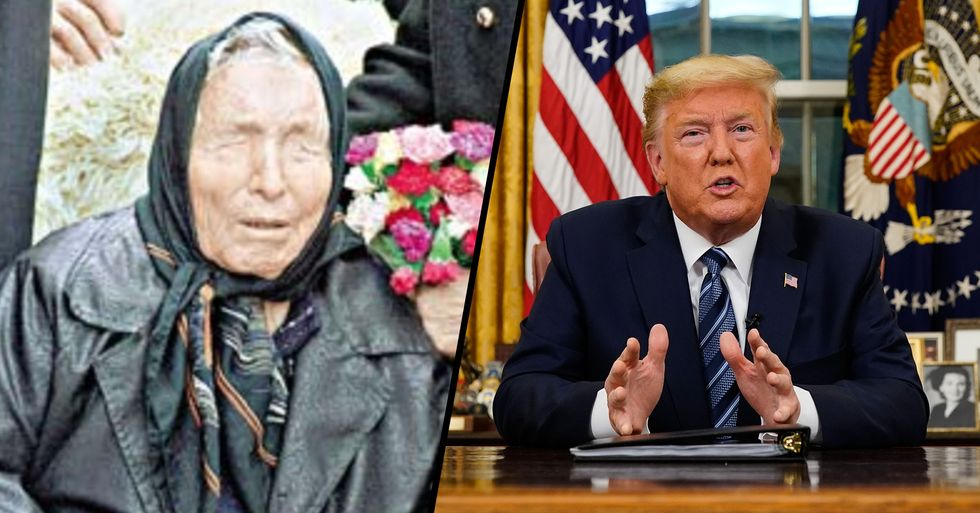 Baba Vanga Predicted That the 45th President of the United States Would Die of a Mysterious Illness