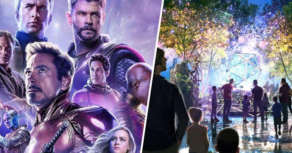 Inside Disneyland's New Marvel-Themed Avengers Campus