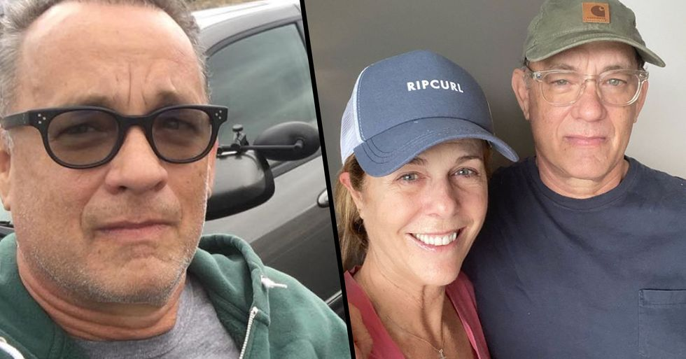 Tom Hanks Gives Health Update After He and His Wife Tested Positive for Coronavirus