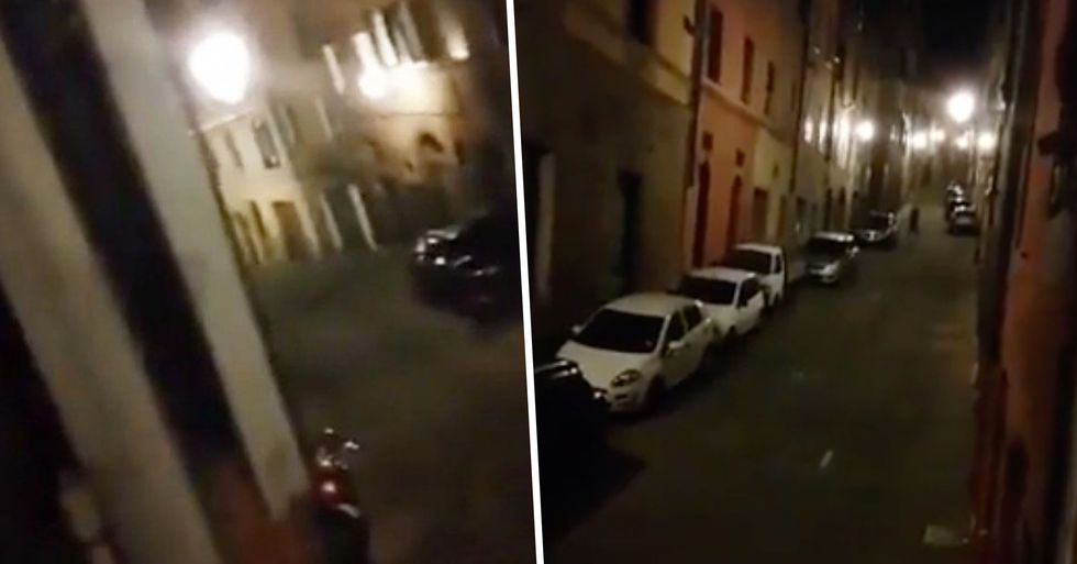 Italian Street Rings out With Song as People Lean out of Windows to Sing Together During Lockdown
