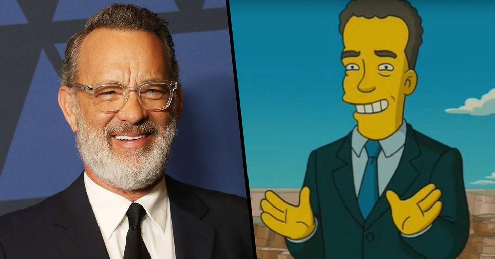 Fans Think 'The Simpsons' Predicted Tom Hanks Getting Coronavirus