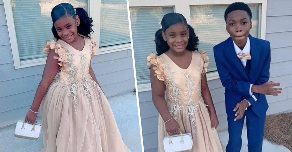 Boy Takes His Sister to Her Father-Daughter Dance After Dad Stood Her Up