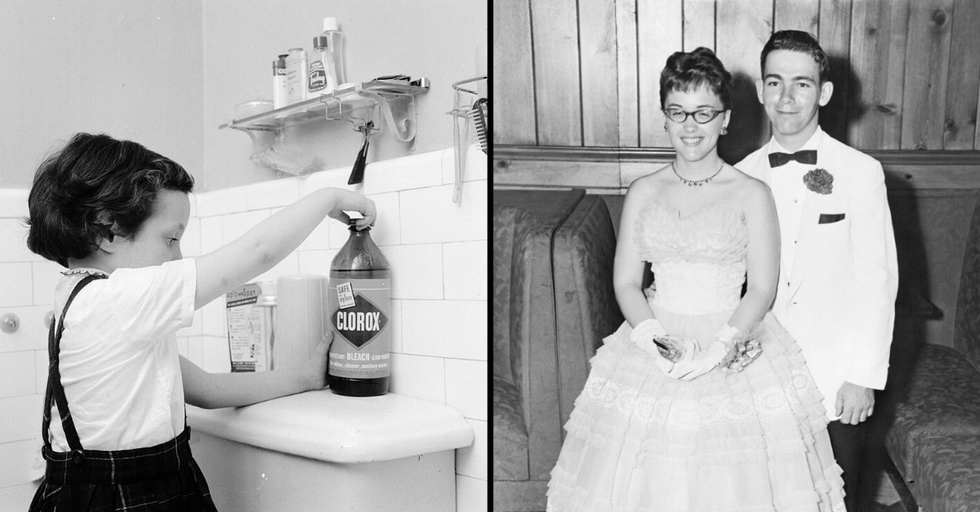 Things You'll Only Recognize If You Grew up in the '50s or '60s