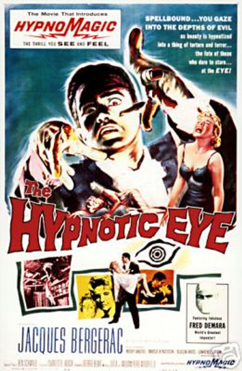 The Hypnotic Eye Available On DVD At Warner Archive!