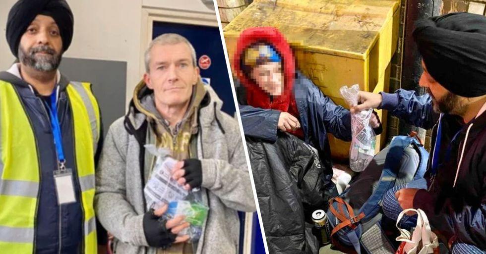 Volunteers Are Handing out Packs of Coronavirus Supplies to Homeless Communities