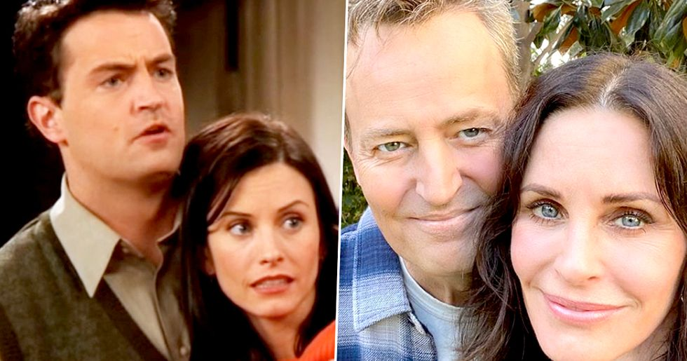 Matthew Perry Has 'Always Been In Love' With Friends Co-Star Courteney Cox