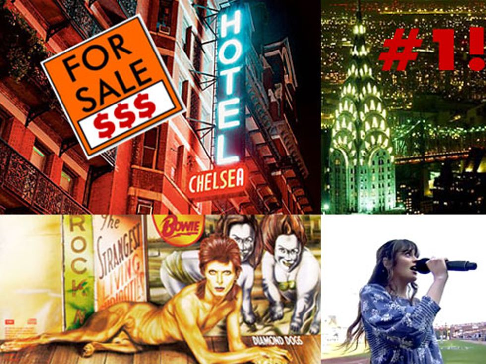 The Chelsea Hotel For Sale + Everyone/No One Wants to Live in NYC in Today's Eight Items or Less