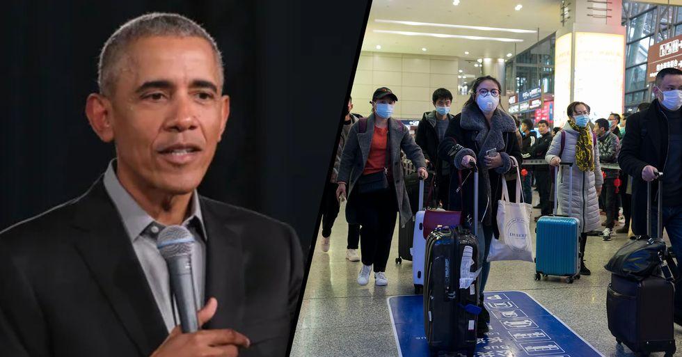 Barack Obama Shares Frightening Coronavirus Infection Simulator