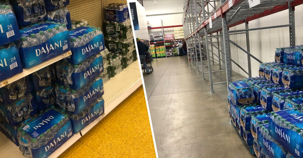 People Are Panic Buying Food and Water Amid Coronavirus Outbreak but Still Not Buying Dasani Water
