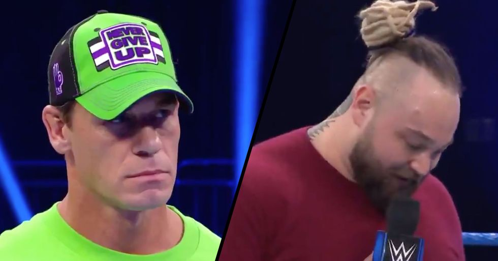 WWE Wrestlers Trash Talking Each Other to Empty Arena Has People Cringing