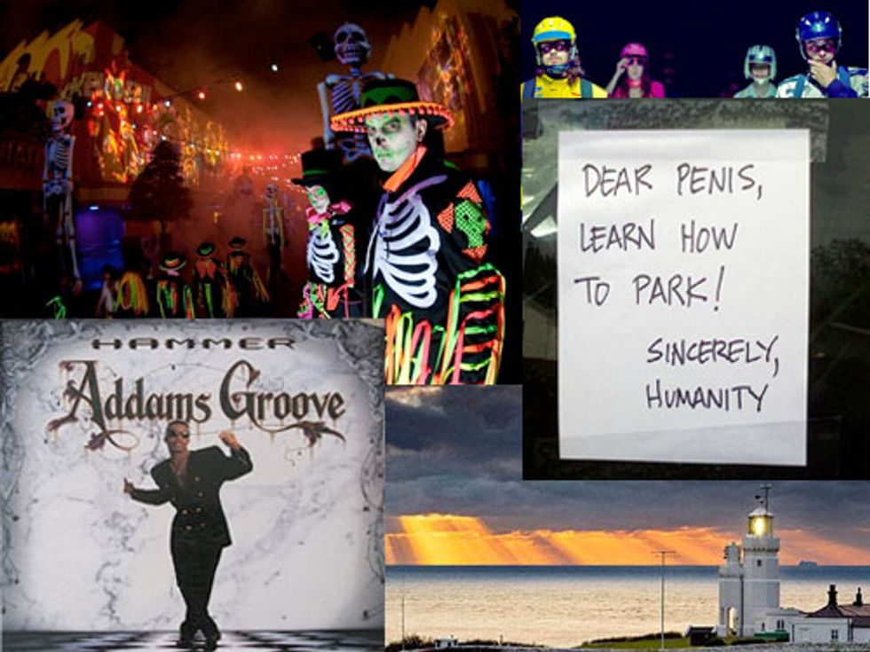Best Halloween Songs + Passive Aggressive Parking Notes in Today's Bestests