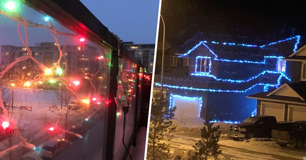 People Are Putting Their Christmas Lights Back up to Spread Some Joy in These Dark Times