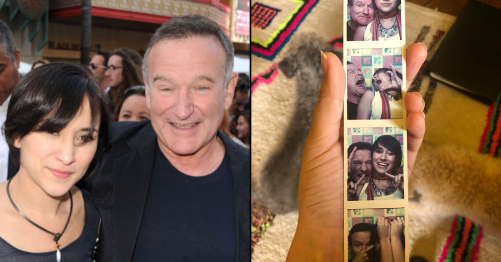 Robin Williams' Daughter Finds Adorable Images Of Her Dad During Self Isolation Spring Clean