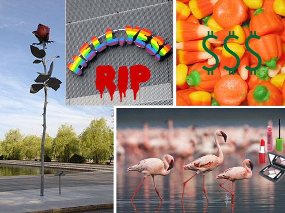 R.I.P. Hell, Yes! + Two Marks at Gavin Brown's Enterprise in Today's Eight Items or Less