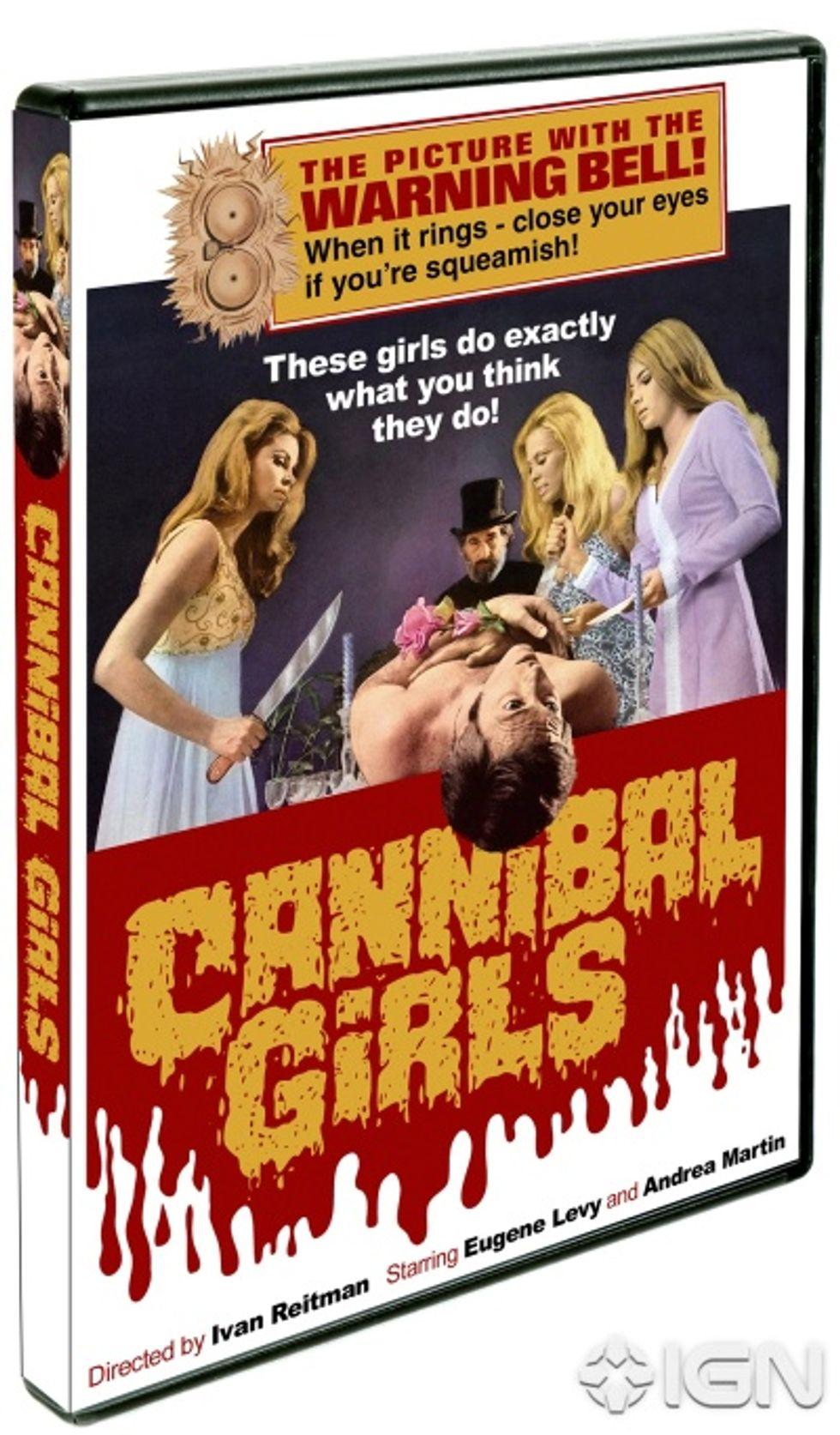 Cannibal Girls On DVD!