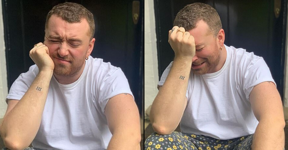 Sam Smith Shares Stages of 'Quarantine Meltdown' During Self-Isolation