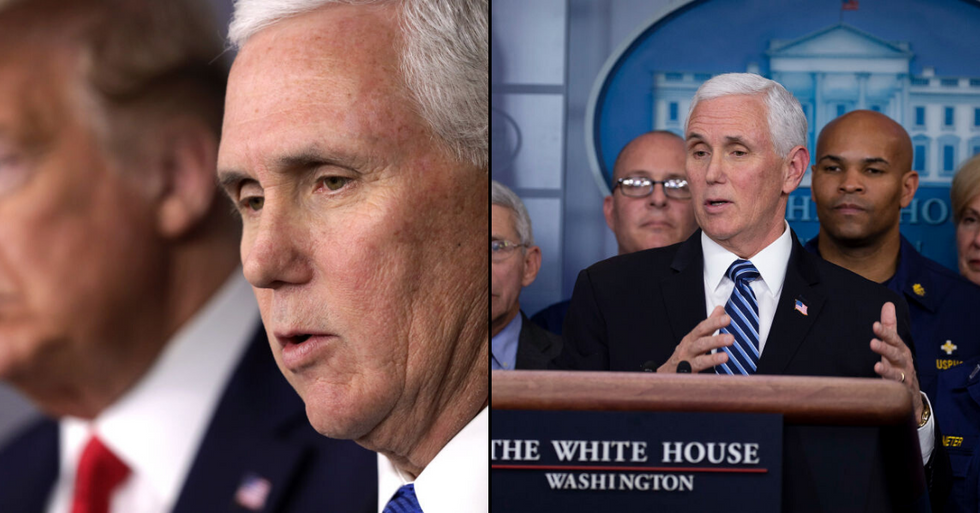Staff Member In Mike Pence's Cabinet Tests Positive For Coronavirus
