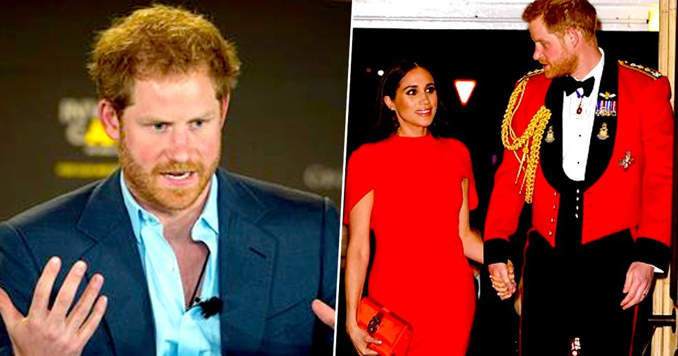 Prince Harry Snapped Before Moving to Canada With Meghan and Baby Archie