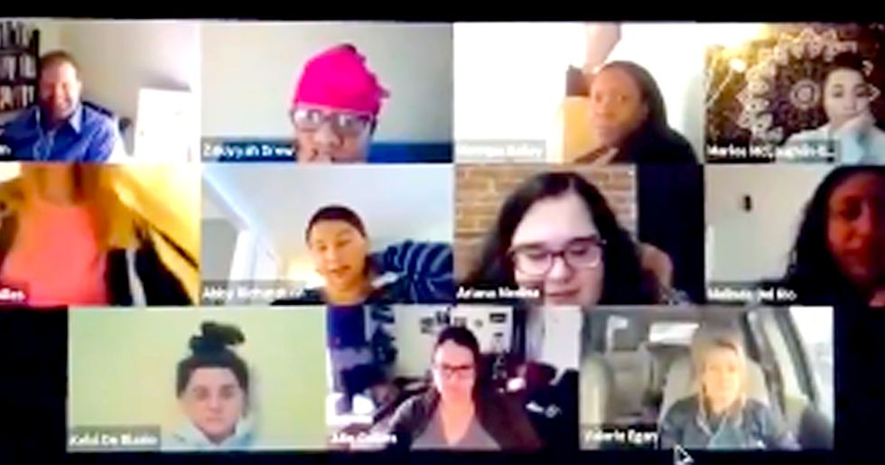 Woman Accidentally Goes to Toilet During Work Video Conference Call
