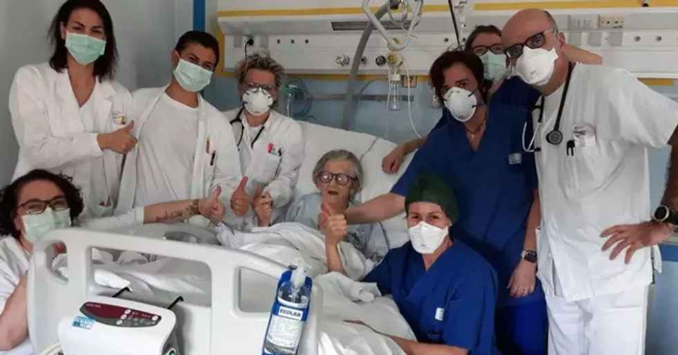 95-Year-Old Grandmother Becomes the Oldest Person to Recover From Coronavirus in Italy