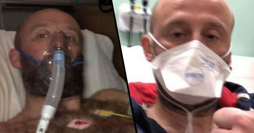 Fit and Healthy Man Hit by Coronavirus Sends Important Message to the World