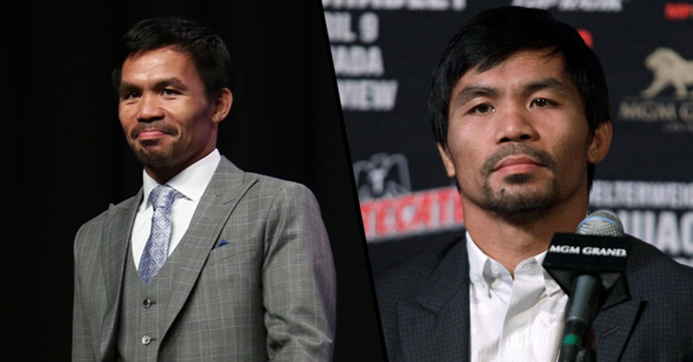 Manny Pacquiao Says He's 'Not Afraid to Die' to Help the Philippines Battle the Coronavirus Pandemic