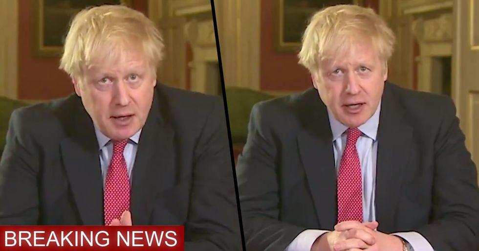 The United Kingdom Goes Into Lockdown