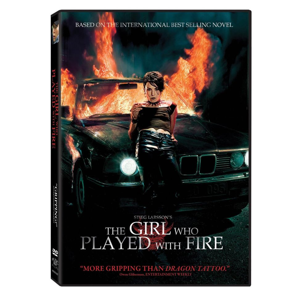 The Girl Who Played With Fire On DVD & Blu-ray