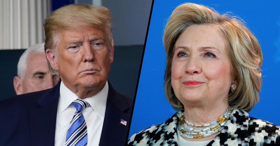 Hillary Clinton Tweets 'Best Burn in Internet History' to Donald Trump