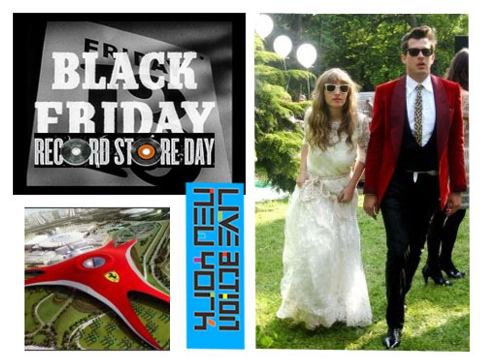 Back to Black Friday + Live Action: New York in Today's Eight Items or Less