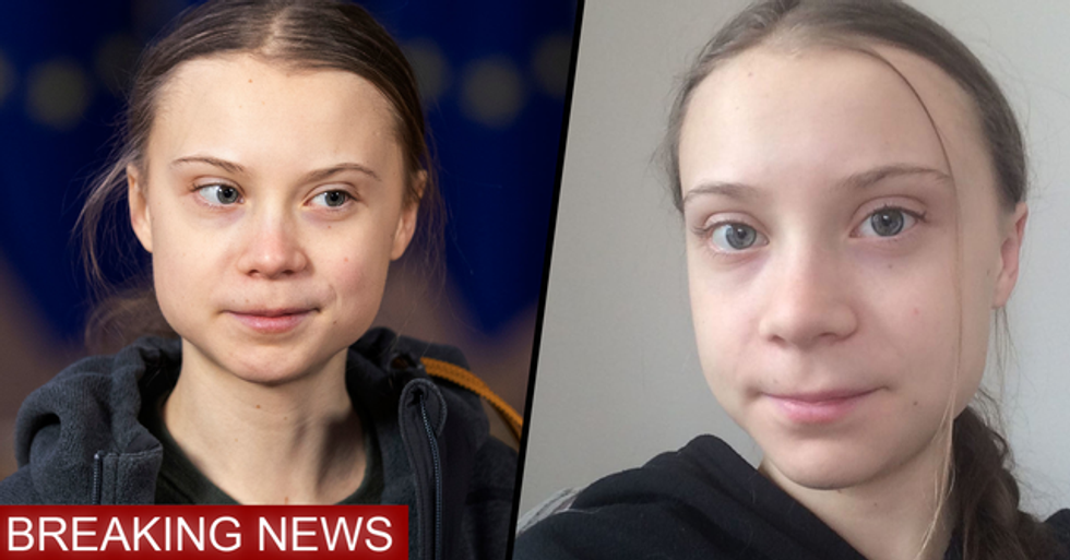 Greta Thunberg Says She May Have Coronavirus