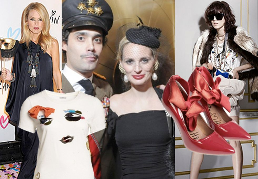 Lanvin x H&M Full Collection Revealed and Fashion's Top Pregnancy Rumors in Today's Style Scraps