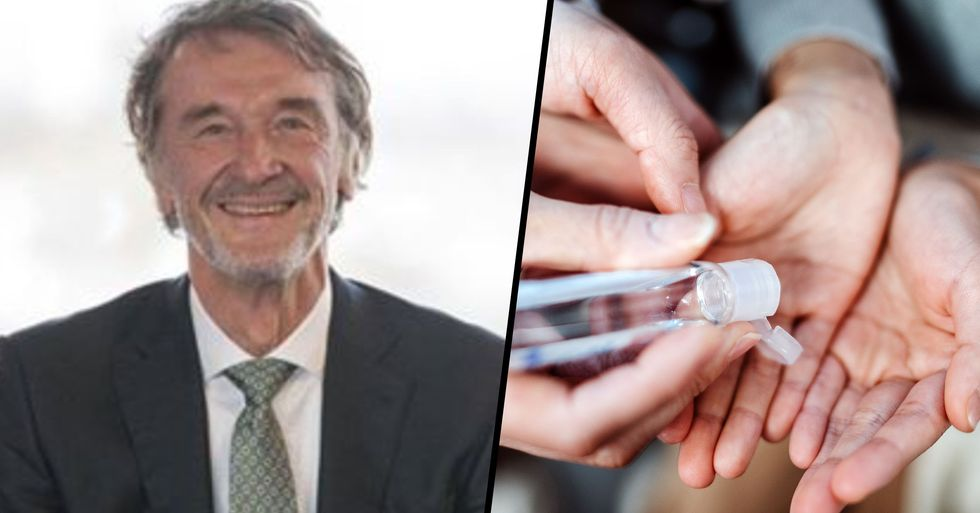 Britain's Richest Man Building Hand Sanitizer Plant That Will Produce 1 Million Bottles a Day