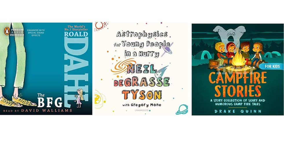 30 Incredible Audiobooks That'll Keep Your Kids Entertained for So Many Hours