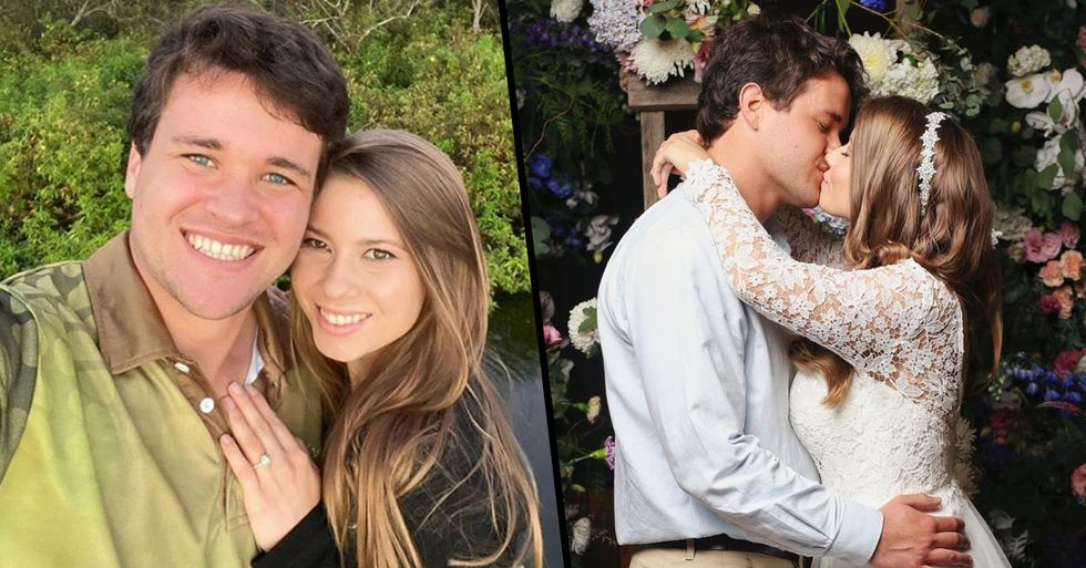 Steve Irwin's Daughter Slammed for Going Ahead With Wedding Despite Social Distancing Warnings