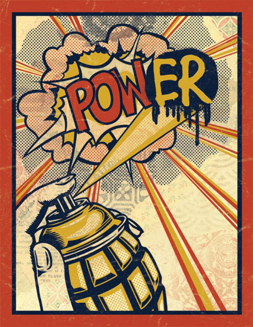 Shepard Fairey's POW(ER) to the People