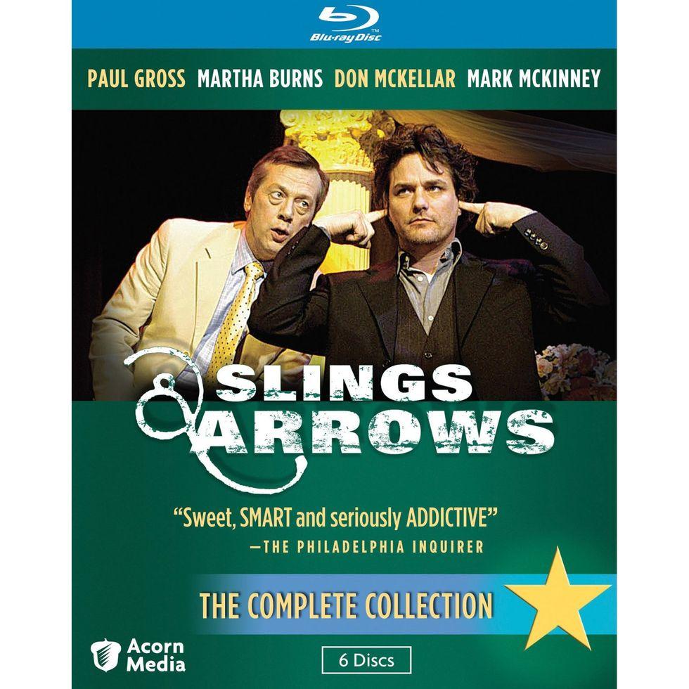 Slings & Arrows On Blu-ray