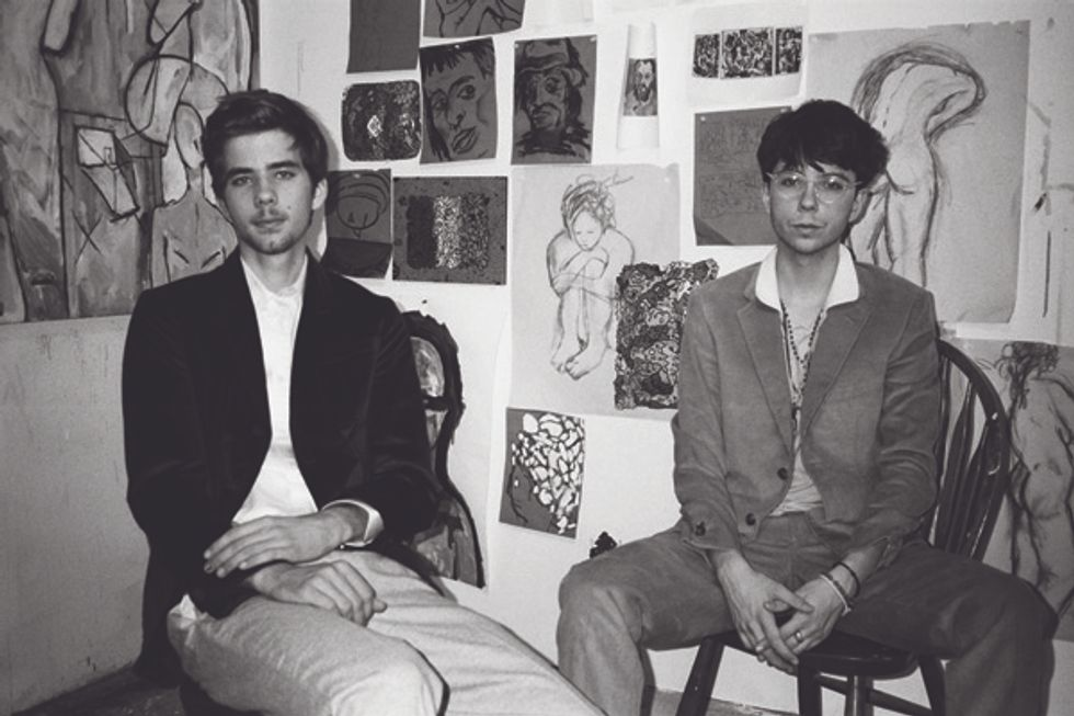 Art Crawl: Jack and Louis Shannon