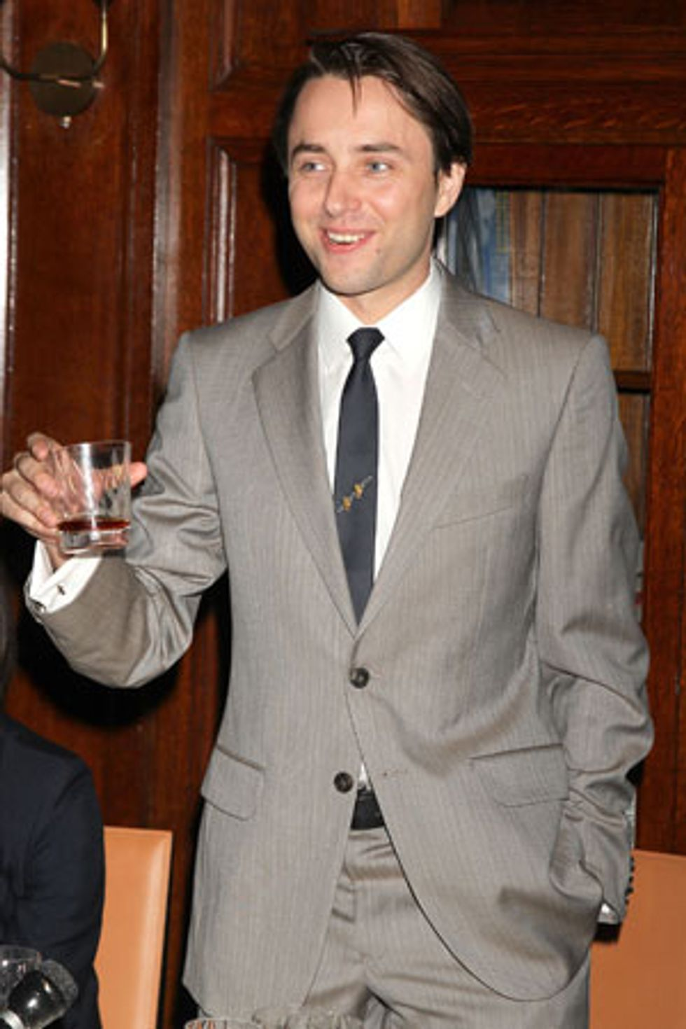 Oh, No Biggie, I Was Just Sipping On Some Remy Martin With Vincent Kartheiser at the Lambs Club