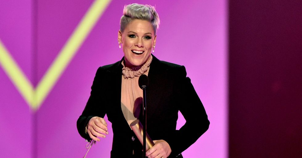 Pink Gives Herself a 'Horrendous' Haircut While Drunk During Quarantine