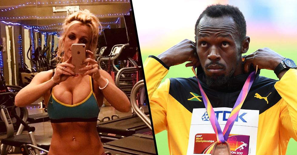 Britney Spears Claims She Beat Usain Bolt's 100m World Record By 4 Seconds